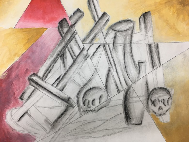 Year 8 Cubism and Still Life