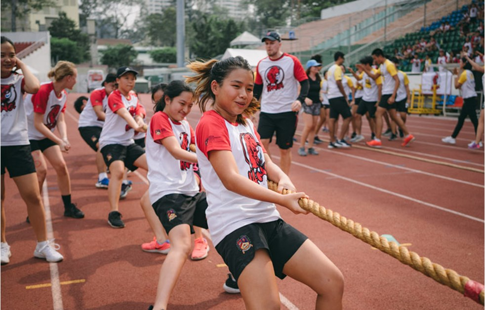 BIS HCMC Secondary Sports Day - Tug of War
