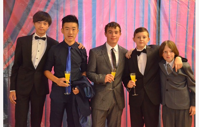 The British School of Guangzhou Junior Prom 2015