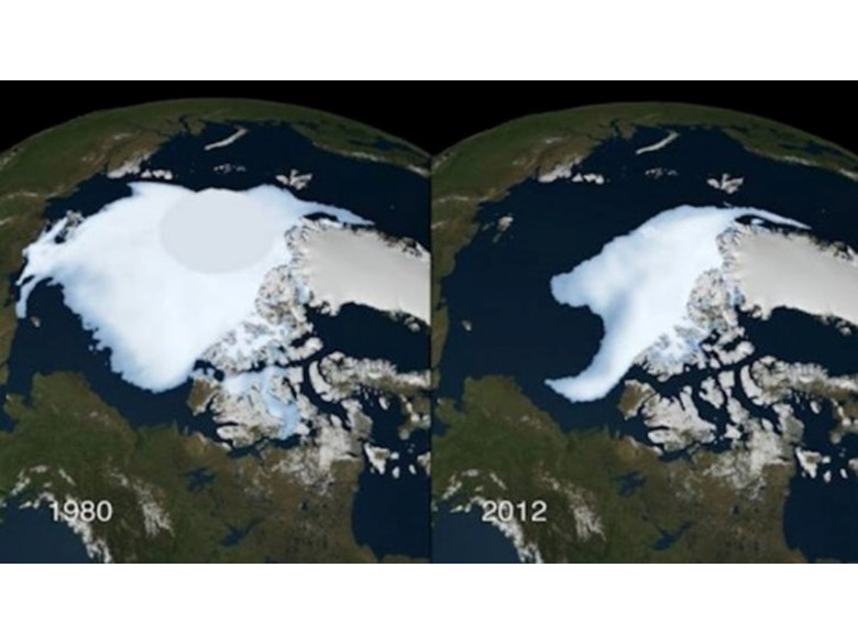 Antarctica before and after