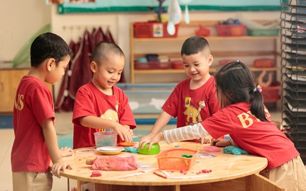 Our EYFS students enjoys British education at BVIS HCMC