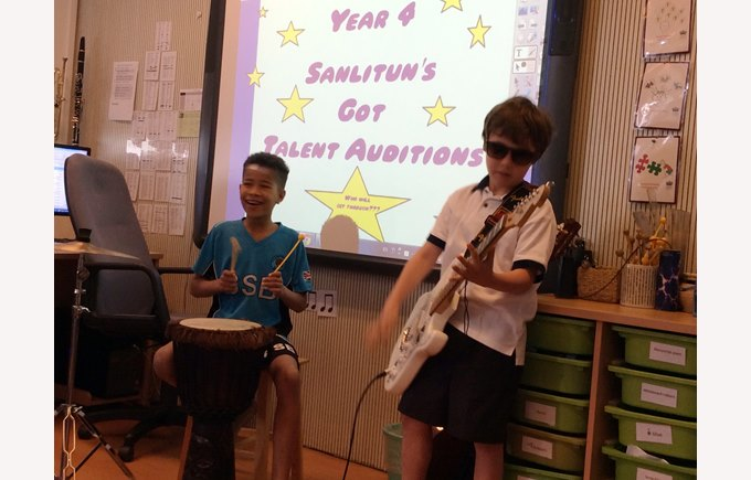 Y4 SGT Auditions