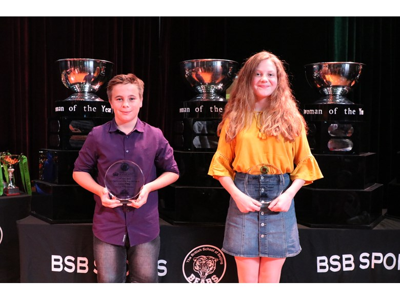 U14 Sportsman and Sportswoman