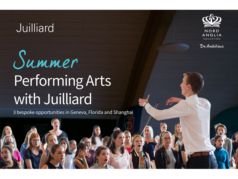 Summer performing arts 2018 cover