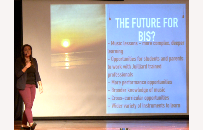 British International School Hanoi Juilliard launch