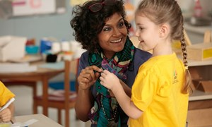 The warmth of the relationships between teachers and children