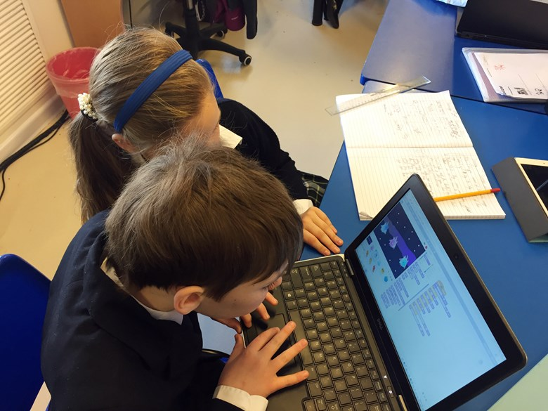 Y6 studying global warming