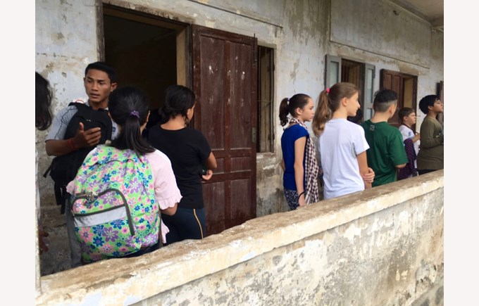 Year 7 Cambodia Trip Update Day 1