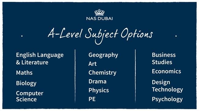 A Level subjects 04