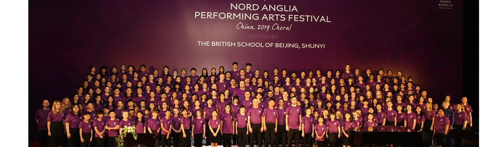 NAE Performing Arts Festival Choral 982x288