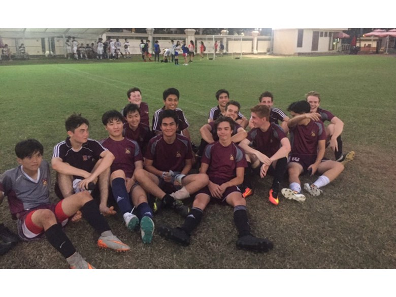U19 Boys Football vs TAS