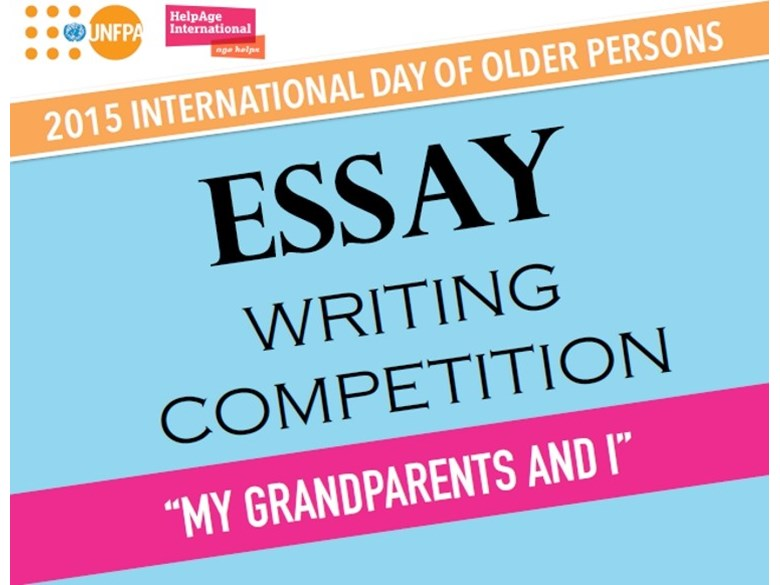 Essay writing contest My Grandparents and I