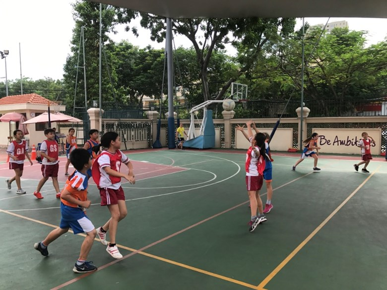 TX BIS HCMC Interschool Netball Tournament