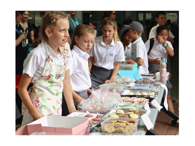 Year 7 Bake Sale to raising money for the recent Indonesian earthquake