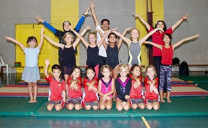 Gymnastics students | NIS international school Jakarta