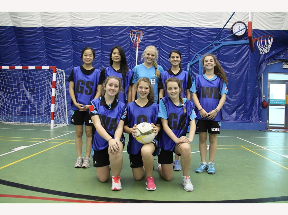 U15 Girls Netball Team 1