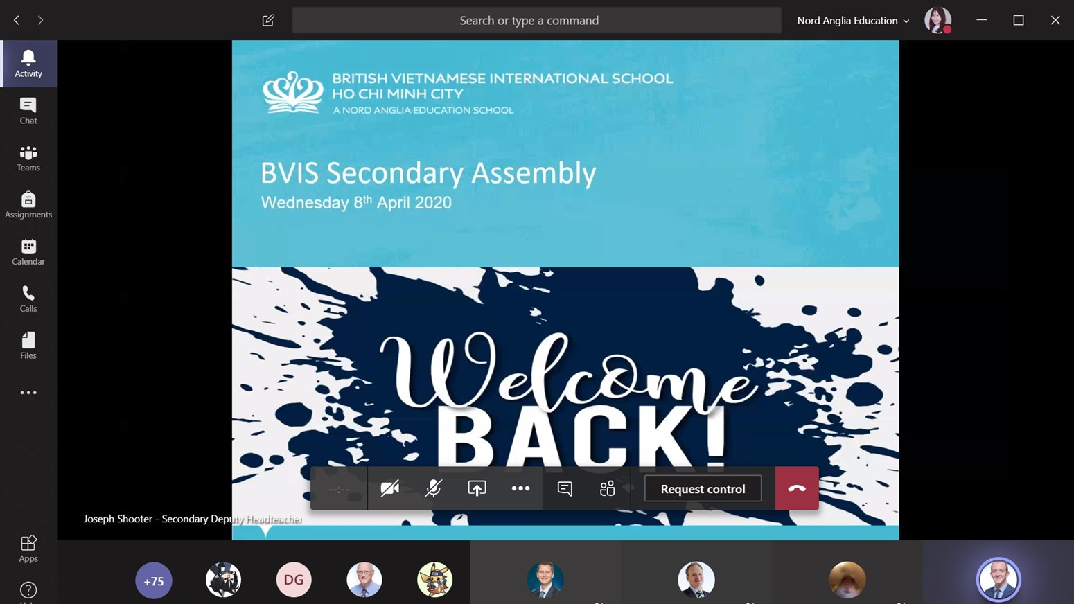 BVIS HCMC Virtual Secondary Assembly