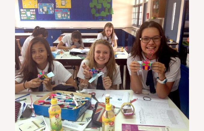 Year 9 Students at Regents create scientific models