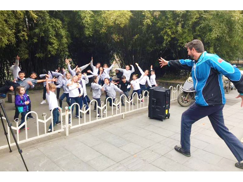 Juilliard Flash mob Challenge 4