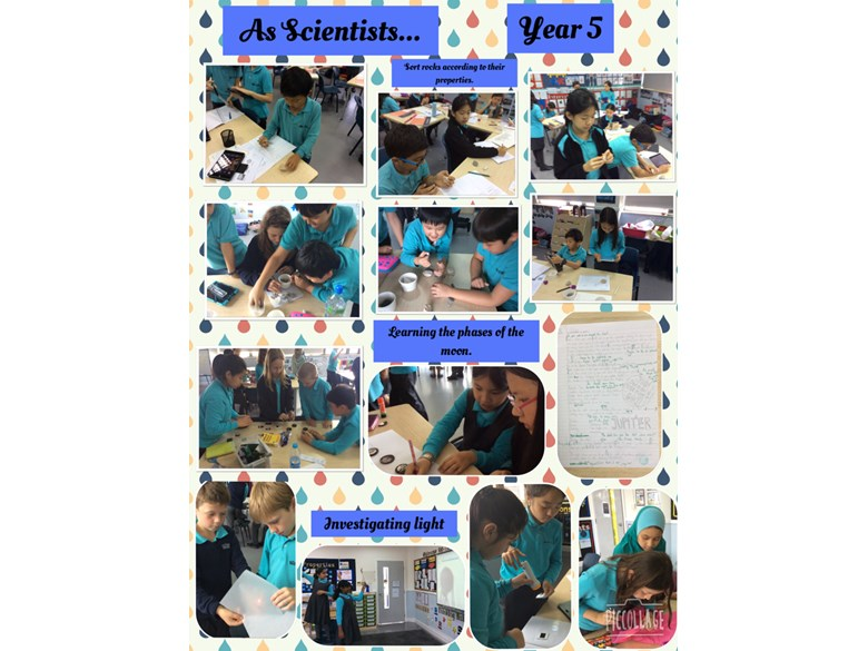 Investigative Science in Year 5