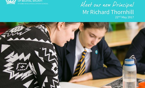 20170522 Meet our new Principal Richard Thornhill