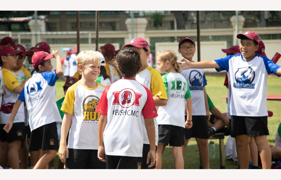 British International School, HCMC, Year 6 Sports Day PE