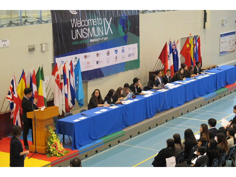 UNISMUN conference 2017 BIS HCMC 5