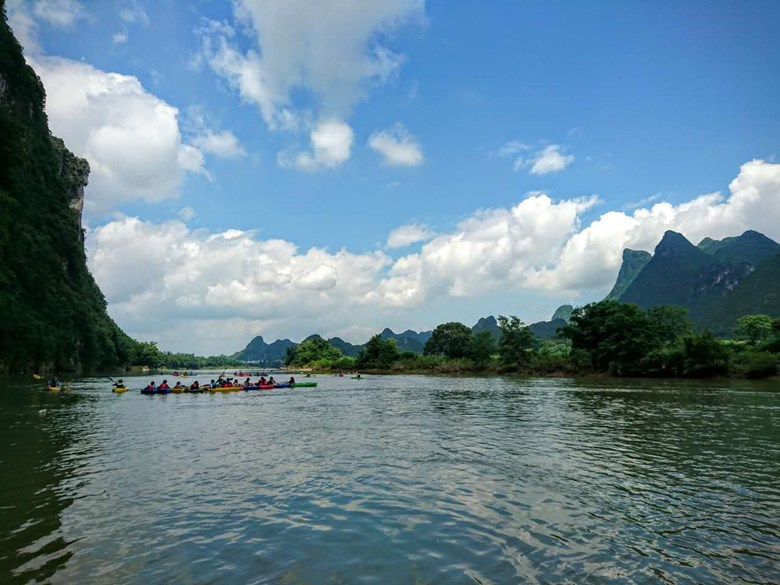 Year 7 Group A Yangshuo Trip Day
