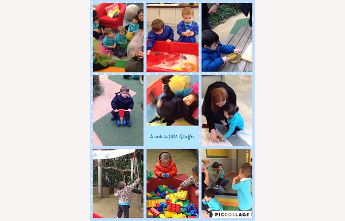 A busy week in Giraffe Class
