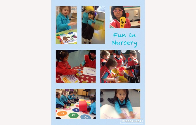 Learning new things in Nursery