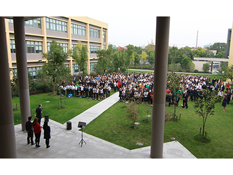 Remembrance Day at the British international School Shanghai, Puxi
