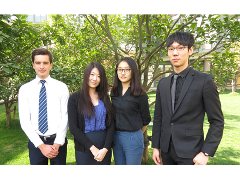 4 of our students who have received unconditional offers from KAIST, Duke and Northwestern Universities.