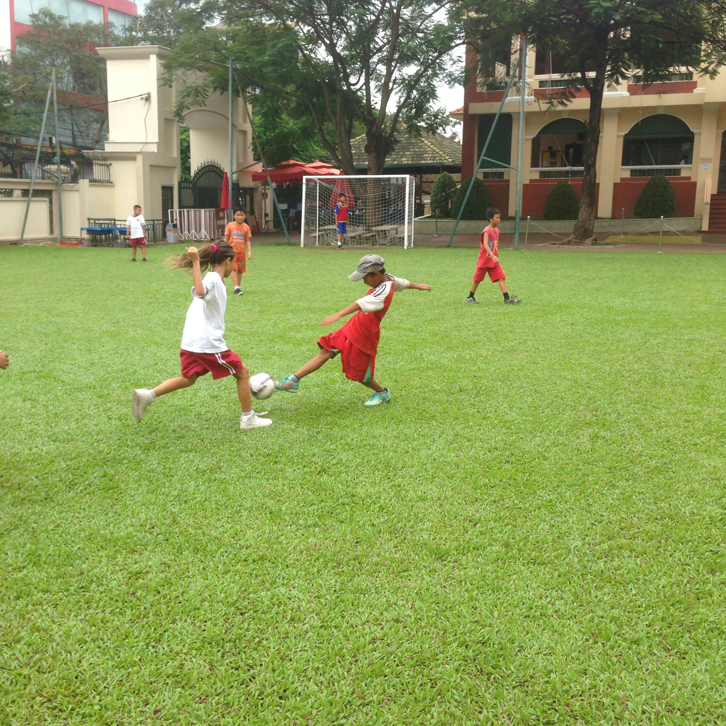 BIS Ho Chi Minh Community Football - 2