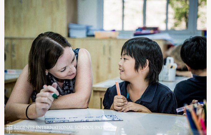 English EAL teaching | Regents International School Pattaya