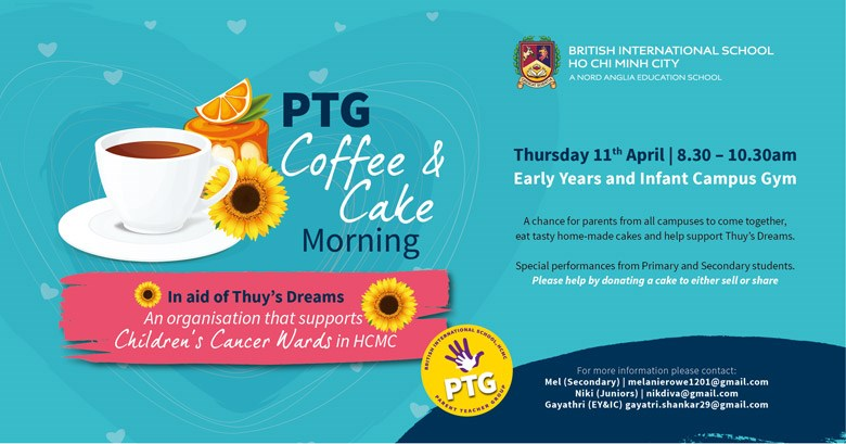 PTG Coffee and Cake Morning 2019 - BIS HCMC