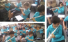 Year 6 learning the flute at BISS Puxi