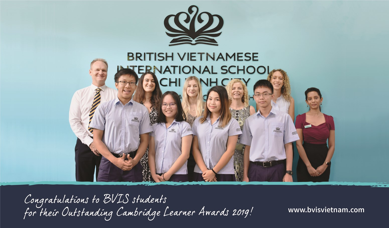 BVIS HCMC Outstanding Cambridge Cambridge Learners Awards 2019