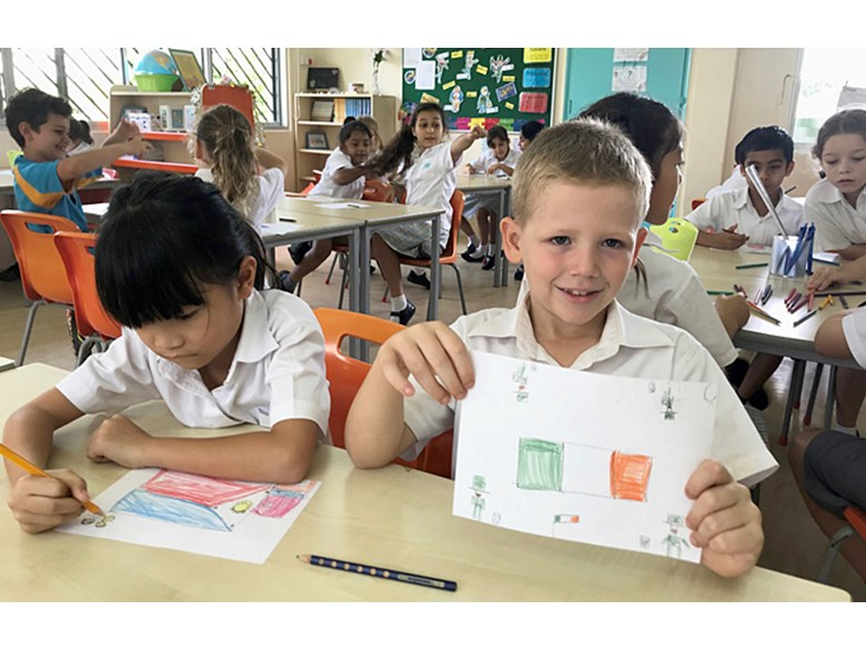 Year 3 Mandarin Postcard Writing Project