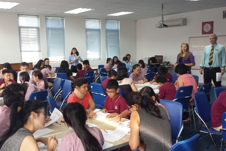 BIS Tu Xuong Parents Big Write Workshop