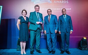 Brit Cham 20th Anniversary Business Awards Winner