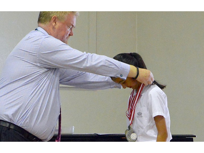 Year 7 Student Wins One Gold and Two Silver at National Gymnastics Championship