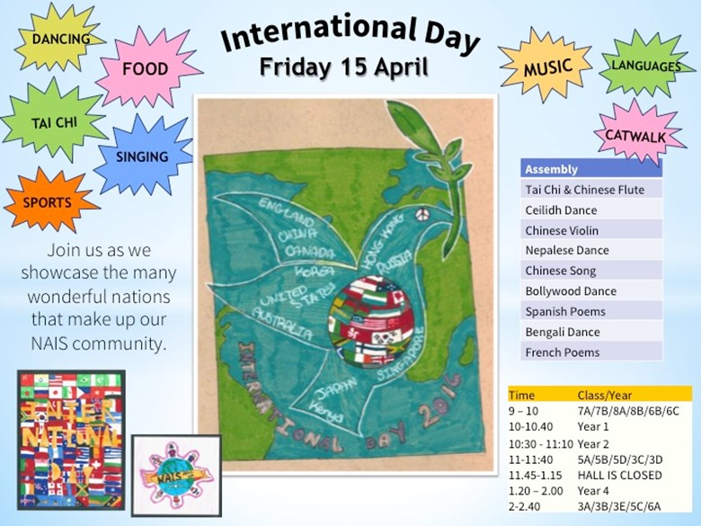 International Day poster
