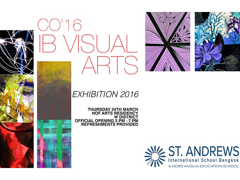 IB Visual Arts Exhibition 2016