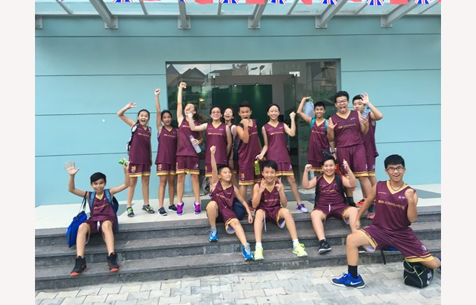 British International School hanoi sports