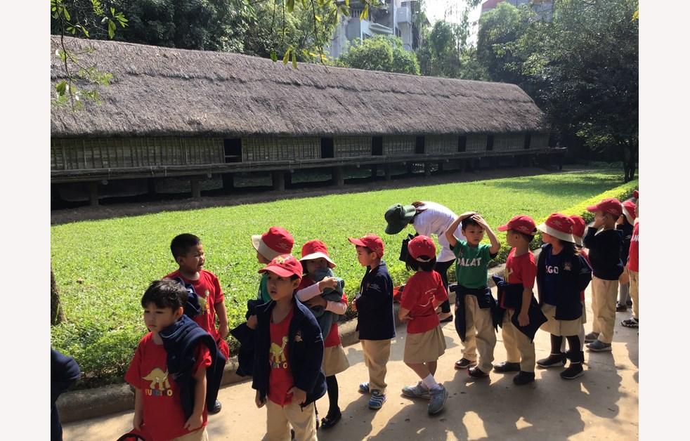 F3 visit to Vietnam Museum of Ethnology 1