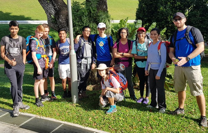 Dover Court International School Singapore Duke of Edinburgh MacRitchie Reservoir
