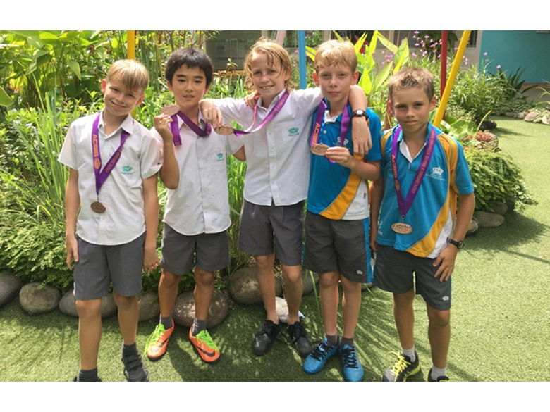Bronze medals for our Year 6 Boys U11 Cross Country Team