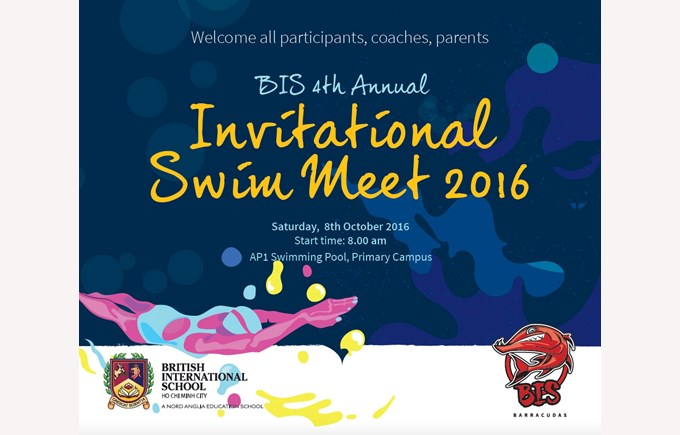 Invitational swim meet 2016 bis would like to welcome parents to attend the 4th annual bis invitational swim meet on m4hsunfo