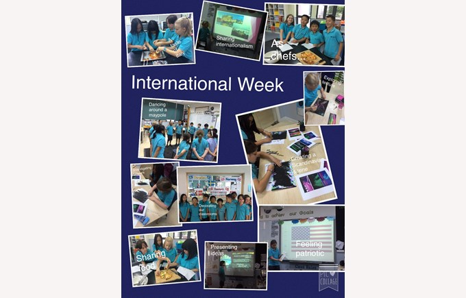International Week in Year 5
