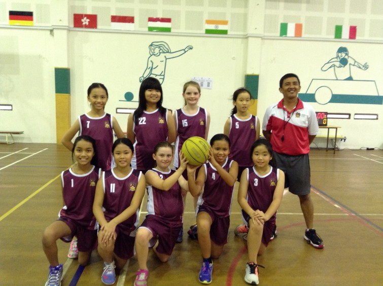 An Phu Primary Girls Basketball Team